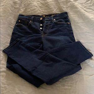 EUC 7 for all mankind jeans; high waist josefina